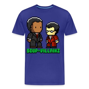Soup or Villainz Pixels 3-4X - Men's Premium T-Shirt