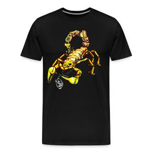 Mr. Scorpion 3-4X - Men's Premium T-Shirt