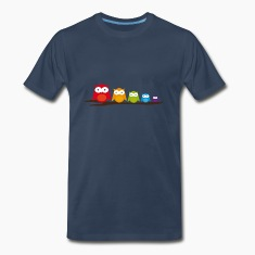 Five colorful owls T-Shirts