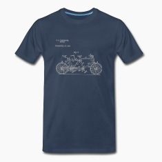 Tandem Bike Conversion Kit 1894 T-Shirt
