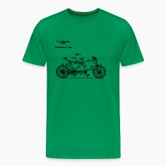 Bicycle Tandem Bike Conversion Kit 1984 T-Shirt