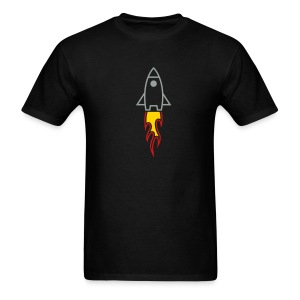 Rocket (Black LW Tee) - Men's T-Shirt