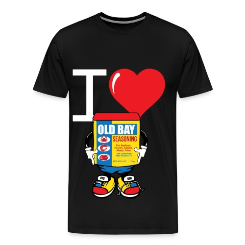 Old Bay Love - Men's Premium T-Shirt