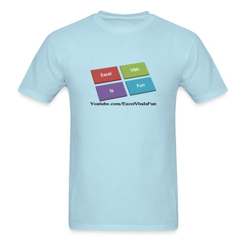 Excel VBA Is Fun T-Shirt - Men's T-Shirt