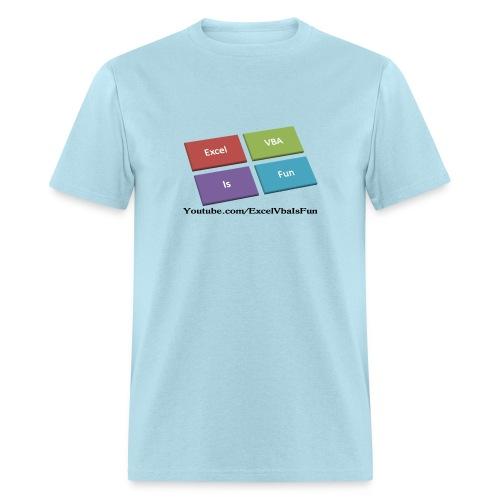 Excel VBA Is Fun T-Shirt - Men's T-Shirt
