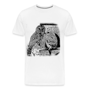Mom & Boo (BW) - Men's Premium T-Shirt