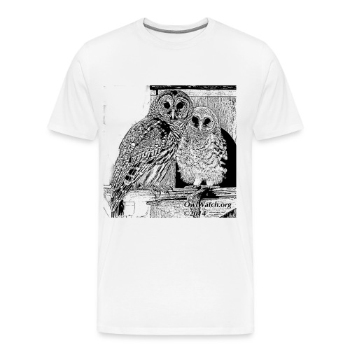 2014 Boo & Mom (BW) - Men's Premium T-Shirt