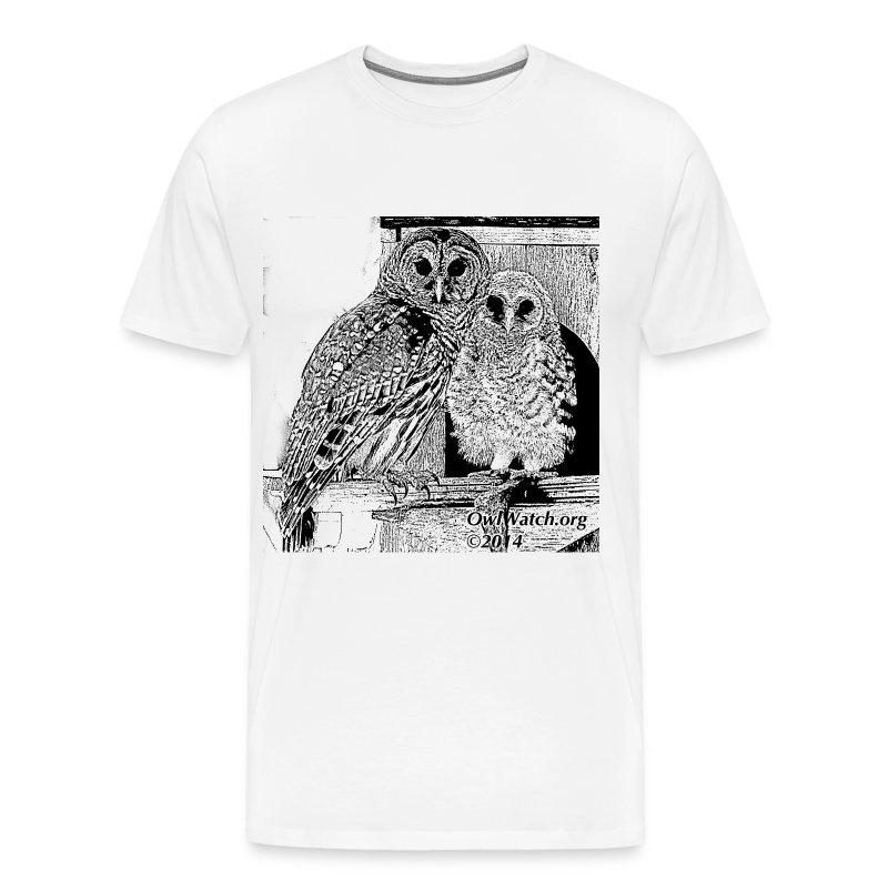 2014 Boo & Mom (BW) - Men's Premium T-Shirt