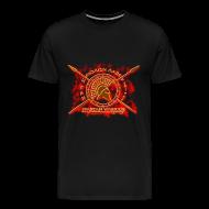 T-Shirts ~ Men's Premium T-Shirt ~ spartan warrior-molon labe
