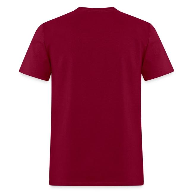 I Like Big Putts - Disc Golf Shirt - Men's Heavyweight - White Print