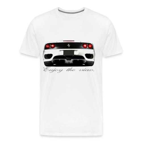 Enjoy the view Ferrari Men's Shirt - Men's Premium T-Shirt