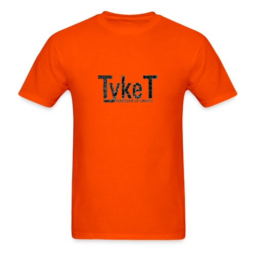 New Tyke T Shirts (Black Logo)  - Men's T-Shirt