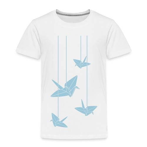Hanging Origami Cranes - Toddler Premium T-Shirt