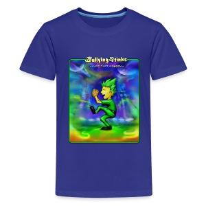 Kid's Bullying Stinks cover - Kids' Premium T-Shirt