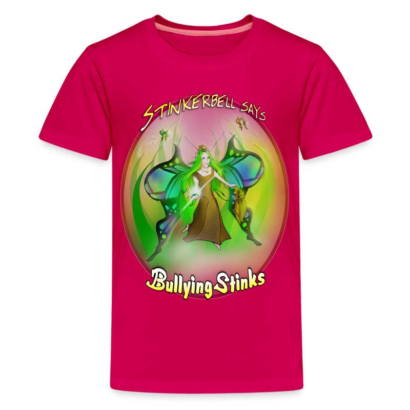 Kids - Stinkerbell says bullying stinks - Kids' Premium T-Shirt