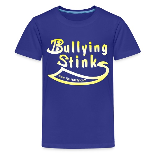Kid's Bullying Stinks, colored text - Kids' Premium T-Shirt
