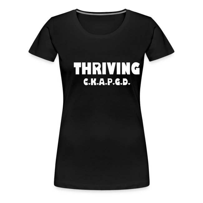 Can't Keep A Passionate Girl Down Thriving-Plus T
