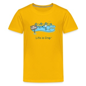 Posted No Fishing - Kid's Tee - Kids' Premium T-Shirt