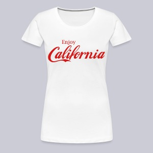Enjoy California - Women's Premium T-Shirt