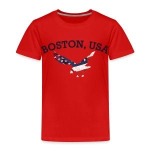 Boston USA Eagle - Toddler Premium T-Shirt