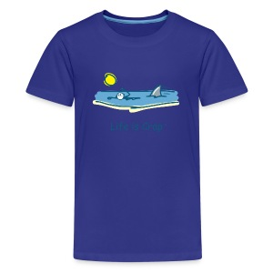 Swimming with Sharks - Kids T-shirt - Kids' Premium T-Shirt