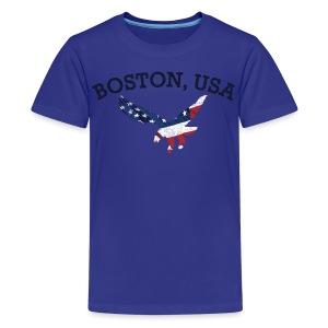 Boston USA Eagle - Kids' Premium T-Shirt