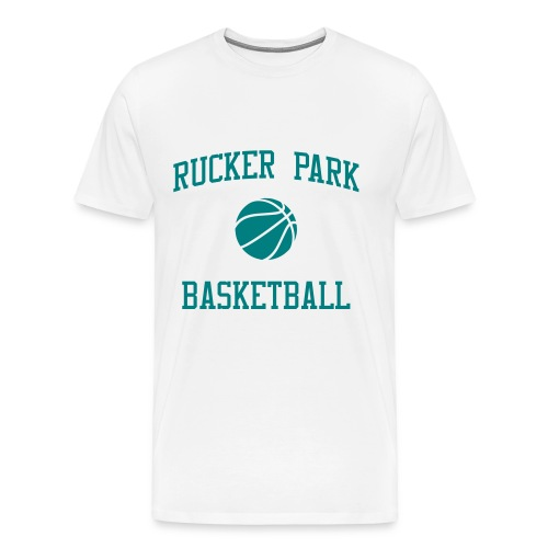 Rucker Park Basketball t-shirt - Men's Premium T-Shirt