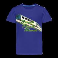 Baby & Toddler Shirts ~ Toddler Premium T-Shirt ~ Detroit People Mover