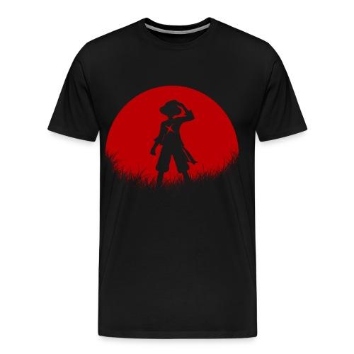 Red Moon Luffy Men's Premium T-Shirt - Men's Premium T-Shirt