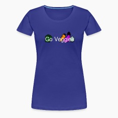 Go veggies Women's T-Shirts
