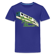 Kids' Shirts ~ Kids' Premium T-Shirt ~ Detroit People Mover