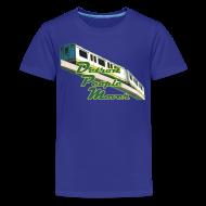 Kids' Shirts ~ Kids' Premium T-Shirt ~ Detroit People Mover