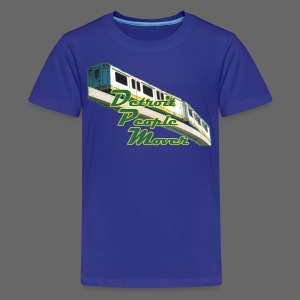 Detroit People Mover - Kids' Premium T-Shirt