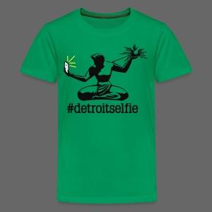 Detroit Selfie - Kids' Premium T-Shirt