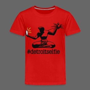 Detroit Selfie - Toddler Premium T-Shirt