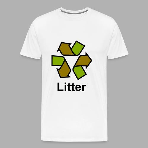 Litter - Men's Premium T-Shirt