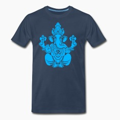 Blue Ganesh T-Shirts
