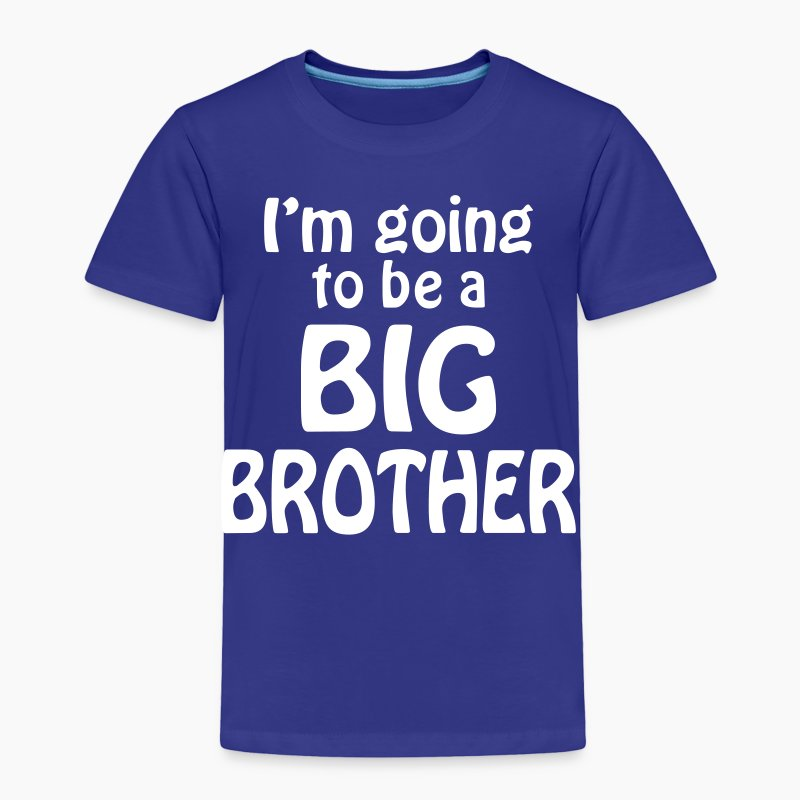 I am going to be a big brother t shirt spreadshirt for Big brother shirts for toddlers carters