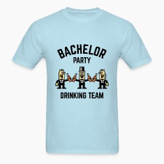 Bachelor Party Drinking Team (PNG / 4C) T-Shirts
