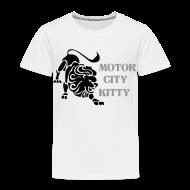Baby & Toddler Shirts ~ Toddler Premium T-Shirt ~ Motor City Kitty