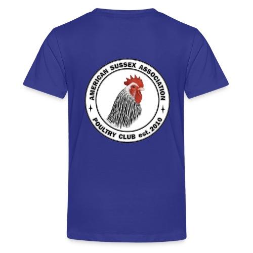 ASA Logo Front & Back Youth T-Shirt - Kids' Premium T-Shirt