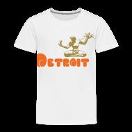 Baby & Toddler Shirts ~ Toddler Premium T-Shirt ~ Spirit of Detroit