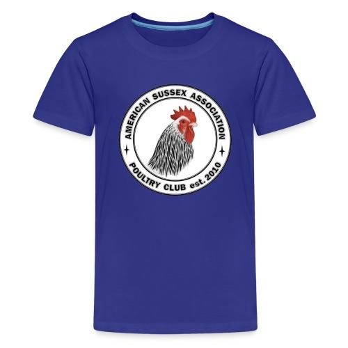ASA Logo Front Only Youth T-shirt - Kids' Premium T-Shirt