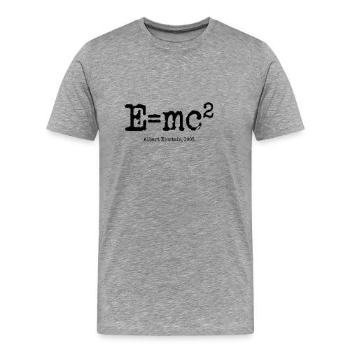 E = mc2 - Men's Premium T-Shirt