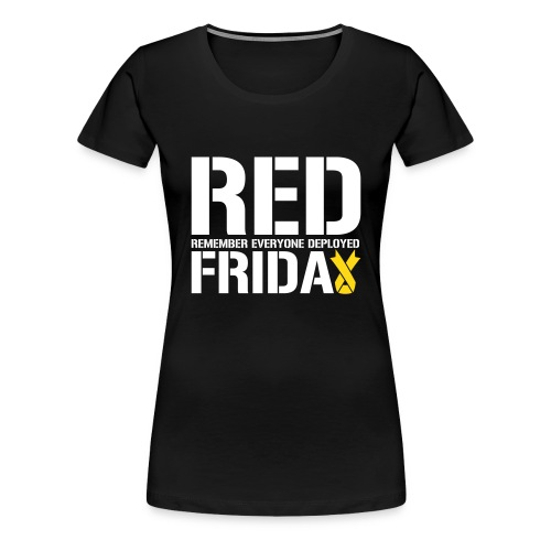 Womens- R.E.D Friday - Women's Premium T-Shirt