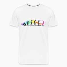 Street Art Rainbow Evolution Graffiti T-Shirts