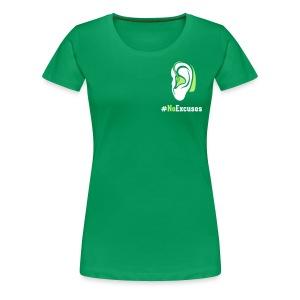 Women's Premium T-Shirt - deaf football player,Derrick Coleman Duracell commercial,Derrick Coleman,DC #40,Coleman