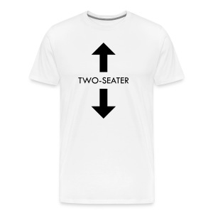two-seater t-shirt - Men's Premium T-Shirt