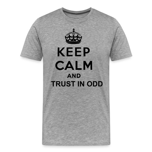 KEEP CALM ODD - Men's Premium T-Shirt