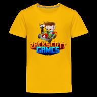 Kids' Shirts ~ Kids' Premium T-Shirt ~ Kart Racer
